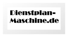 dienstplan-maschine.de